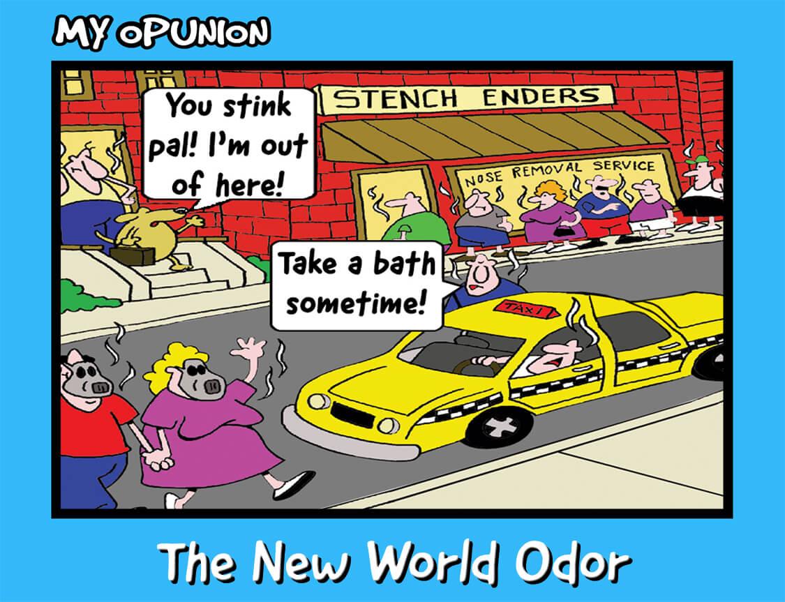 ME41 THE NEW WORLD ODOR B