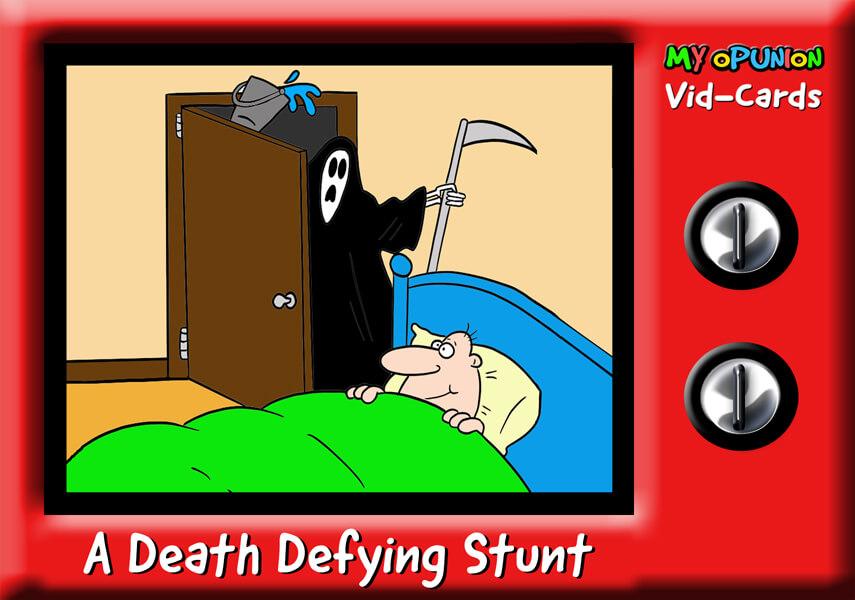 VC02 A DEATH DEFYING STUNT B